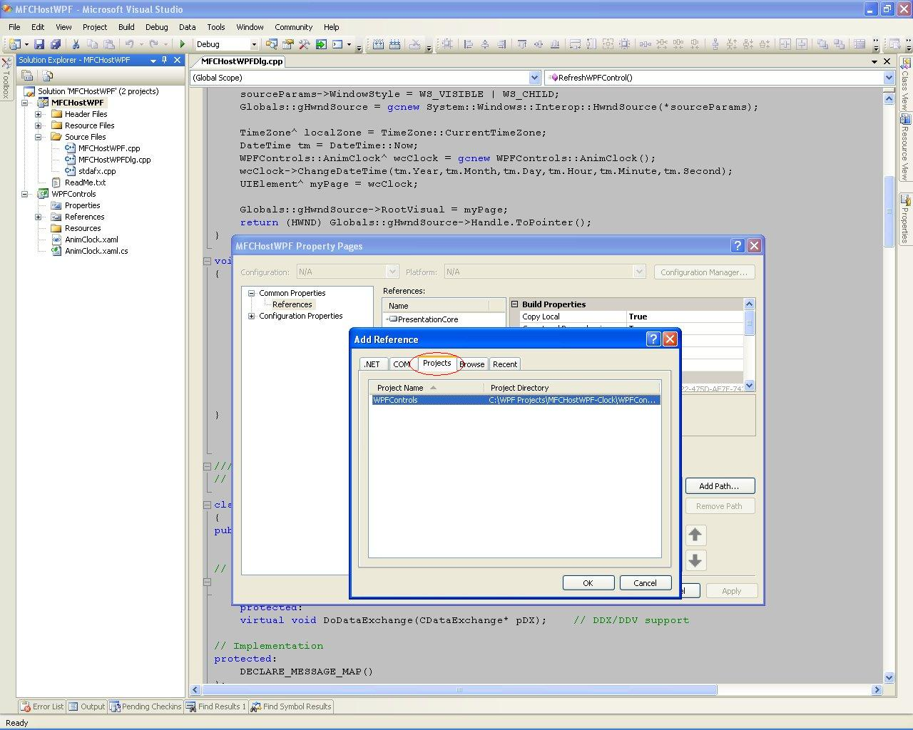 WPF in VC++ MFC