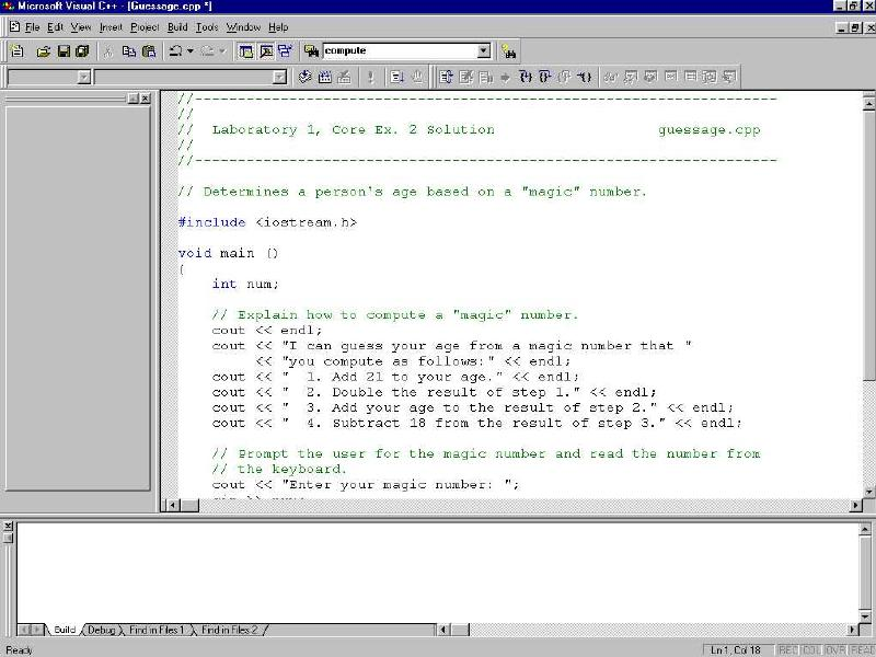 Visual C++ Debug, VC++ Debug, Visual C++ Tutorial, MFC Debug