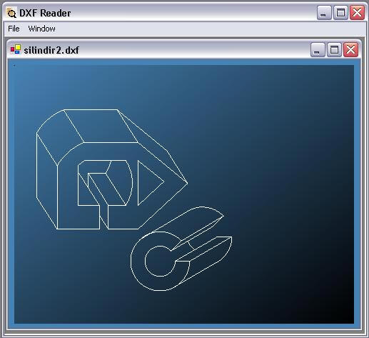Read DXF File, Write DXF File, Draw DXF File and autocad